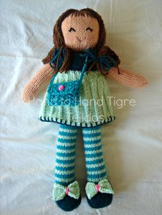 Doll Eloisa by Hand to Hand Tigre - Tejidos