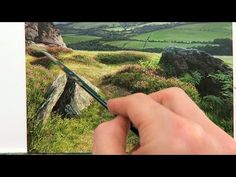 Landscape Painting Time Lapse | Oil Painting Tutorial - YouTube