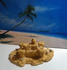 How To Make a Small Sand Castle