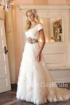 Modest Wedding Dresses - Latter Day