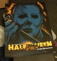 Halloween 18x24 Poster Print Ghoulish Gary Pullin Fright Rags Exclusive Mondo  | eBay