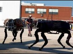 BigDog is a modern military robot released by Boston Dynamics. BigDog is a dynamically stable quadruped robot created in 2005 by Boston Dynamics with Foster-...