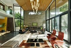 Light-filled lavish layout of expansive volumes embraces luxury with sustainability - CAANdesign | Architecture and home design blog