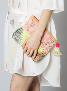 Couverture and The Garbstore - Womens - Ikou Tschuss - Crochet Purse