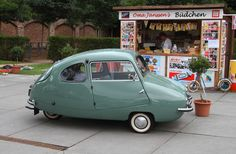1950/60 Fuldmobile (Nobel) Three Wheel Micro Car with SACHS 191cc or 360cc single cylinder 2-Stroke engines