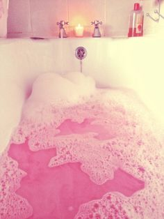 Lush bath bombs are divine« and then I would think it looked really cool and sit in there all day and become a raisin..