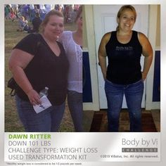 +Dawn Ritter Had Become Tired of Trying to Lose Weight.   Inspired after listening to +Ashley Riggs Sarnicola  talk about the #90DayChallenge , she saw #hope!   Since then Dawn has become committed to a #healthier lifestyle with #ViSalus , completing 5k runs regularly and losing a total of 109 lbs! Lets give it up for this amazing woman and her incredible transformation!      #TransformationTuesday   #ViResults