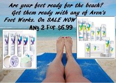 Are you already thinking about your summer days of SUN, SAND and WAVES? Let AVON help you get your feet sandal and beach ready! Great Collection on sale today includes our BONUS-SIZE MAXIMUM STRENGTH CRACKED HEEL CREAM! 5 Items for $10.99 (value $35) https://www.avon.com/brochure… #flauntyourfeet #athomepedi #avonfootworks