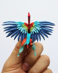 e877a331339ea Cristian Marianciuc is an artist of origami! He challenges himself every  day and creates some