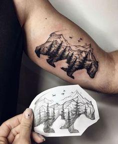 nice Disney Tattoo - 30 Epic Mountain Tattoo Ideas