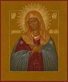 Extreme Humility / Image result for Holy Mother Orthodox Icon -
