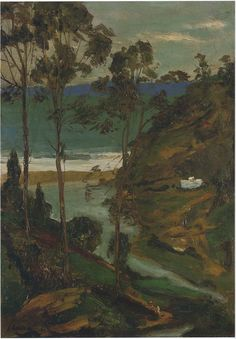 Moorish Landscape (Sir John Lavery, R.A. - 1914) Source: The Athenaeum