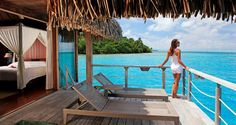 The Hilton Bora Bora Nui Resort in French Polynesia