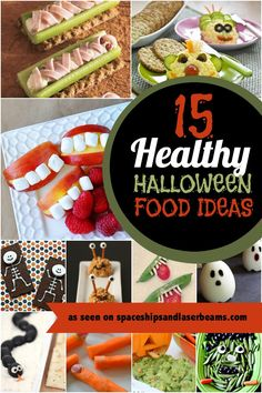 15 Kids' Healthy Party Food Ideas for Halloween
