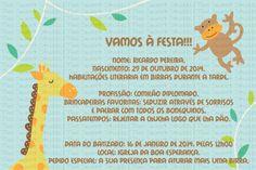 Convite Menino
