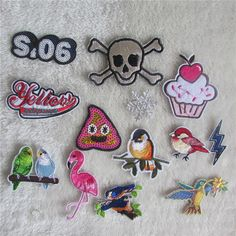 different style high quality cartoon patter hot melt adhesive applique embroidery patch DIY clothing accessory patch #>=#>=#>=#>=#> Click on the pin to check out discount price, color, size, shipping, etc. Save and like it!