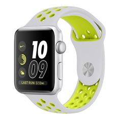 236d3f289f8 23.99 - Apple Watch Silicone Band with Green and White Design from YCW Tech