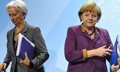 Ψησταριά-Ταβέρνα.Τσαγκάρικο.: Μέρκελ – Λαγκάρντ: Αποφασίζουν για την Ελλάδα χωρί...