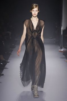 De geplooide jurk –Lanvin