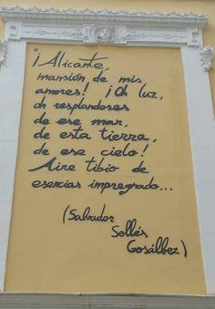 Alicante gedicht