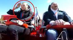 Alucinante: ¡un pasajero se 'come' un pájaro en el Ferrari Land!