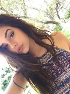 Imagem de girl, hair, and maggie lindemann