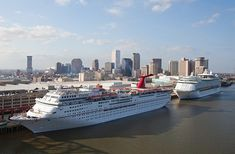 Directions, Parking, and Passenger Information for Port of New Orleans, Erato terminal - where Carnival cruises depart.