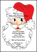 Creative Invitations Announcements Cards for All Occasions at CardsShoppe: Discounted Santa Claus Jolly Cents Party Invit. Christmas Party Invitations, Xmas Party, Holiday Parties, Holiday Greeting Cards, Invites, Invitation Cards, 99 Cents, Christmas Holidays, Santa