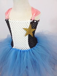 Sheriff Callie Costume Tutu Dress with by JustaLittleSassShop, $43.00