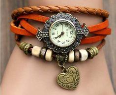 Reloj pulsera vintage.