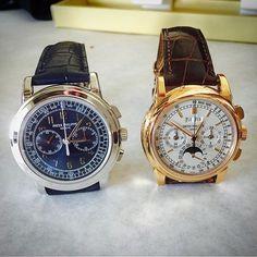 REPOST!!!  What's you favourite  The rare and ultra cool 5070p or the more complicated 5970r?  For me it's the 5070P  Picture @pateknut  #patek  #patekphilippe #patekaholic #patekcollector #tourbillon #relojes #orologio #wristwatch #wristwatches #wristporn #watchporn #watch #watches #watchs #chronograph #chrono #watchmen #watchaddict #watchgeek #wristshot #wristshots #watchoftheday #watchesofinstagram #watchesgrade #montre #montres #uhren #uhr #hodinkee #ablogtowatch #tourbillon  Photo…