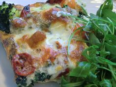 broccolipaj Quiche, Good Food, Pizza, Vegan, Breakfast, Morning Coffee, Quiches, Clean Eating Foods, Eating Well