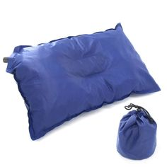 Camping accessories :Xcellent Global Self Inflating Travel Pillow Air Pillow Camping Pillow Portable for Tent Hanmmocks Hiking Outdoor Backpacking *** Details can be found by clicking at the image at this Camping accessories board