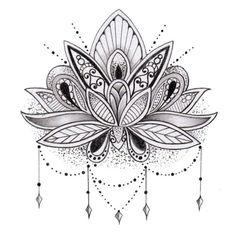 Imágenes de Tatuajes de Flor de Loto | Tatuajes para Mujeres