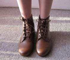 DEERY ANKLE BOOTS. when I was little I wanted boots like this.