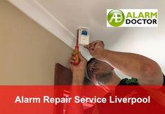 ALARM REPAIR in LIVERPOOL. We repair & install burglar security alarm systems, wireless alarm systems, cctv camera systems in Liverpool.