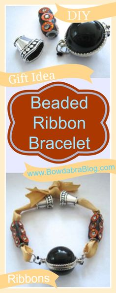 Featured Craft: Beaded Ribbon Bracelet