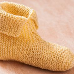 How to Knit Slippers for Beginners