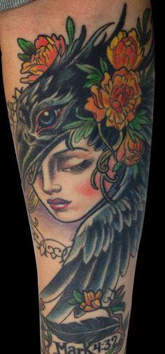 Tattoo by Kim Saigh..