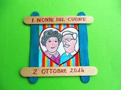 Festa dei nonni - MaestraRenata Grandparents Day Activities, Mothers Day Crafts For Kids, National Grandparents Day, Baby Park, Diy And Crafts, Arts And Crafts, Family Drawing, Kids Class, Step Kids