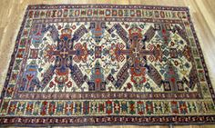 Decorate your home with geometric #antique Kuba rugs. #HomeDecoration #HomeImprovement #HomeDecor #InteriorDesign #Home