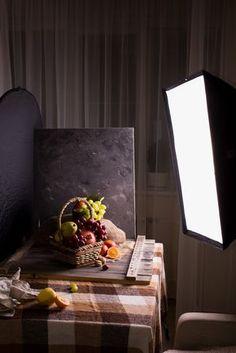 17 Ideas Photography Lighting Setup Food For 2019 Photography Lighting Techniques, Photography Studio Setup, Food Photography Lighting, Food Photography Tips, Photography Camera, Photography Tutorials, Light Photography, Photography Equipment, Photography Captions
