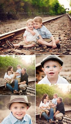 "Linabell Photography: Adorable ""F"" Family 