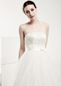 The perfect wedding dress! I would look great in this.