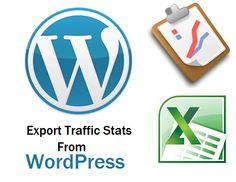 How to Export Traffic Statistics from WordPress? http://kb.eukhost.com/how-to-export-traffic-statistics-from-wordpress/