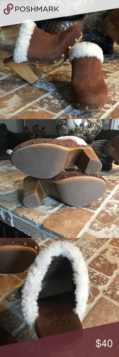 Clogs for women brand ugg. Leather size 6 US. Clogs for women brand ugg. Leather size 6 US. Perfect conditions. UGG Shoes Mules & Clogs