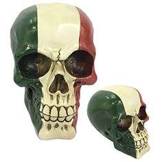 Gruesome Skulls Ornament - Italian Flag Skull (Italy)