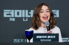 Emilia Clarke at event of Terminator Genisys (2015)