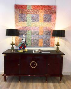 1940's, french, Size: 197x100x56 cm #sideboard #showroom #design #homedecor #art #gallery #artgallery #furniture #livingroom #luxury #fashion #contemporary #retro #budapest Art Nouveau, Art Deco, Showroom Design, Empire Style, Bauhaus, Budapest, Sideboard, Contemporary Art, Luxury Fashion