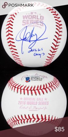 2019 New Style Joe Maddon Autographed Signed 2016 World Series Baseball Ball Cubs Jsa Coa Wholesale Lots